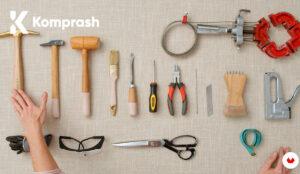 Cómo comprar herramientas de tapicero