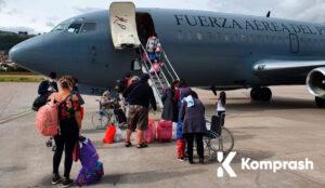 Cómo comprar vuelos humanitarios